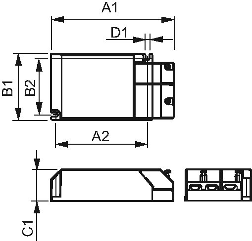 elektronisches vorschaltgerät schaltplan kompakt |