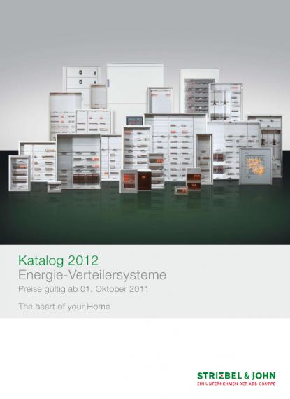 Striebel&John Katalog 2012 | Voltimum